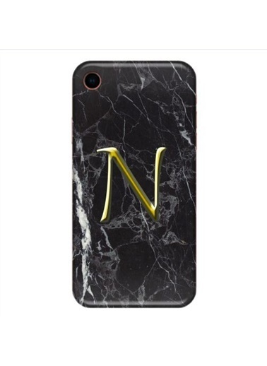 People's Cover iPhone XR Baskılı Harfli Telefon Kılıfı Renkli